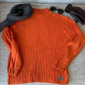 American Eagle half turtle neck sweater